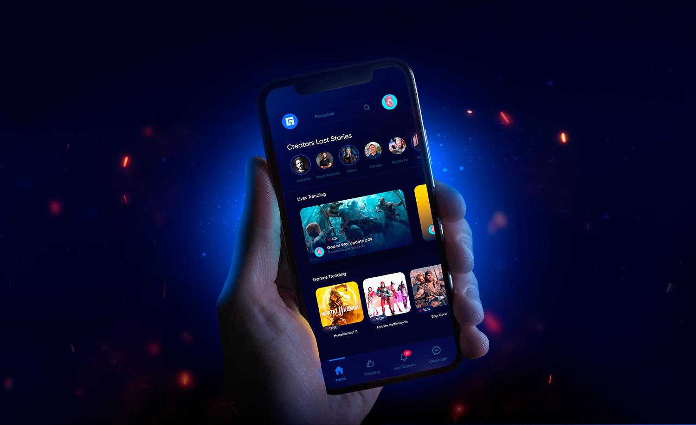 Tendencias diseño de apps: colores fuertes y modo oscuro
