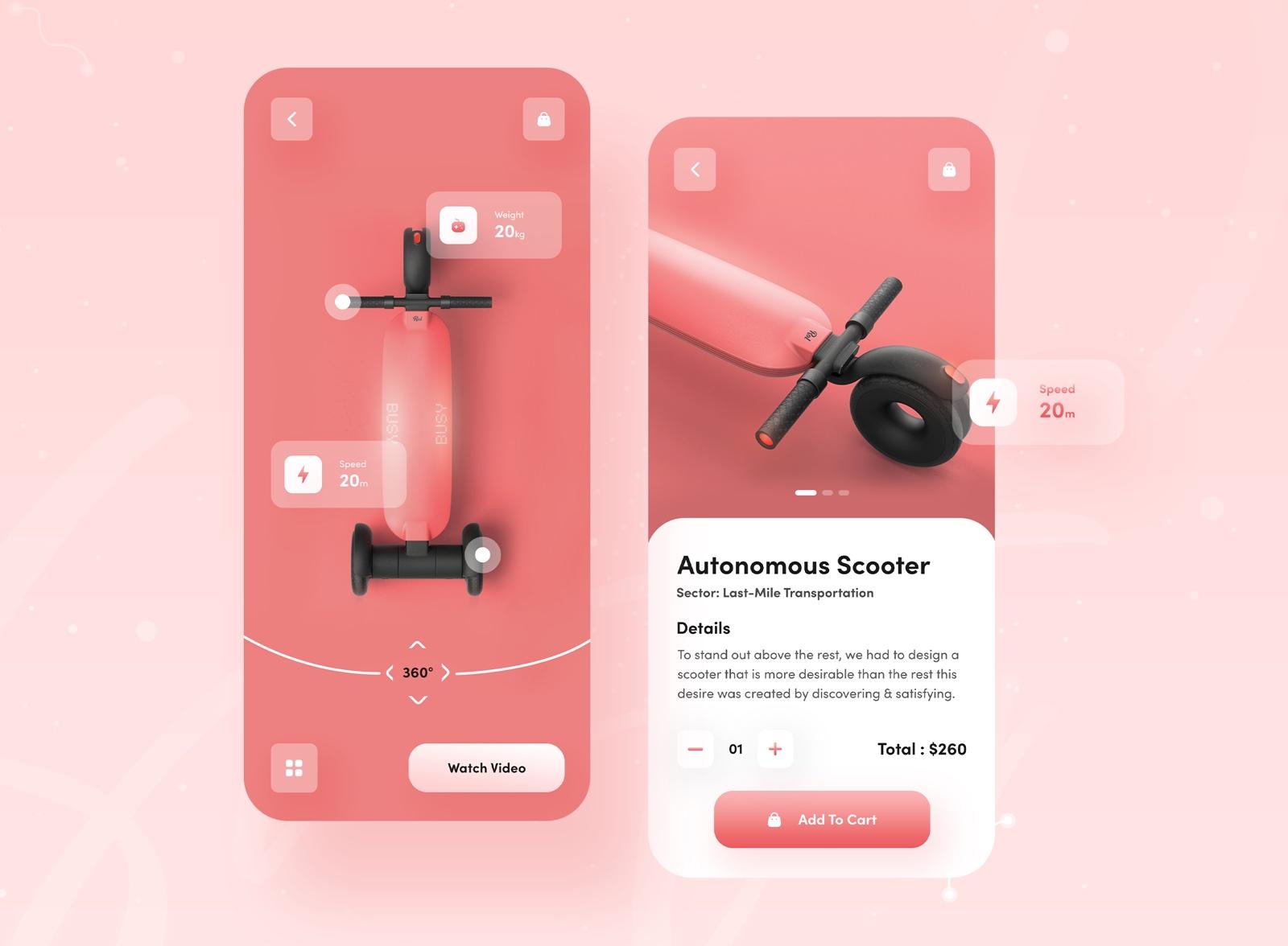 Tendencias diseño de apps: elementos 3D