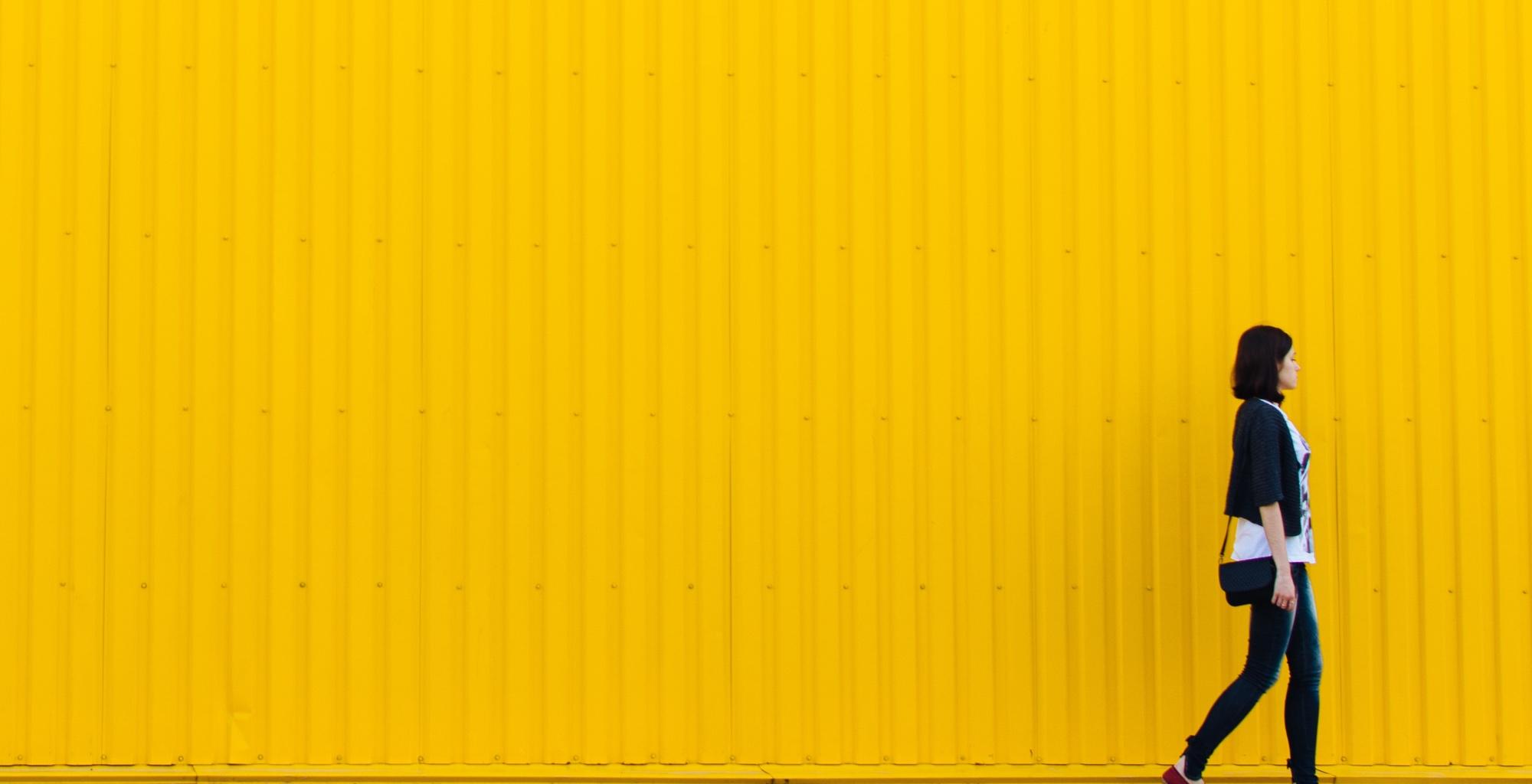psicología del color diseño web amarillo