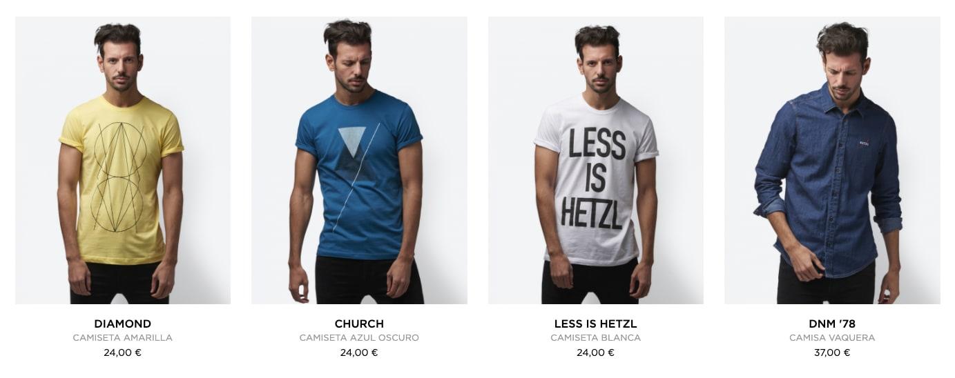 ecommerce de moda productos recomendados