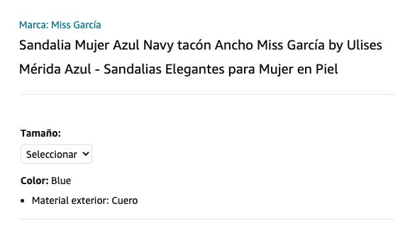 Título de producto SEO Amazon