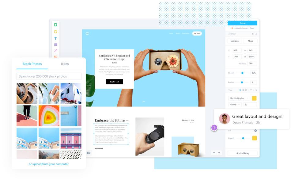 marvel herramientas prototipado web