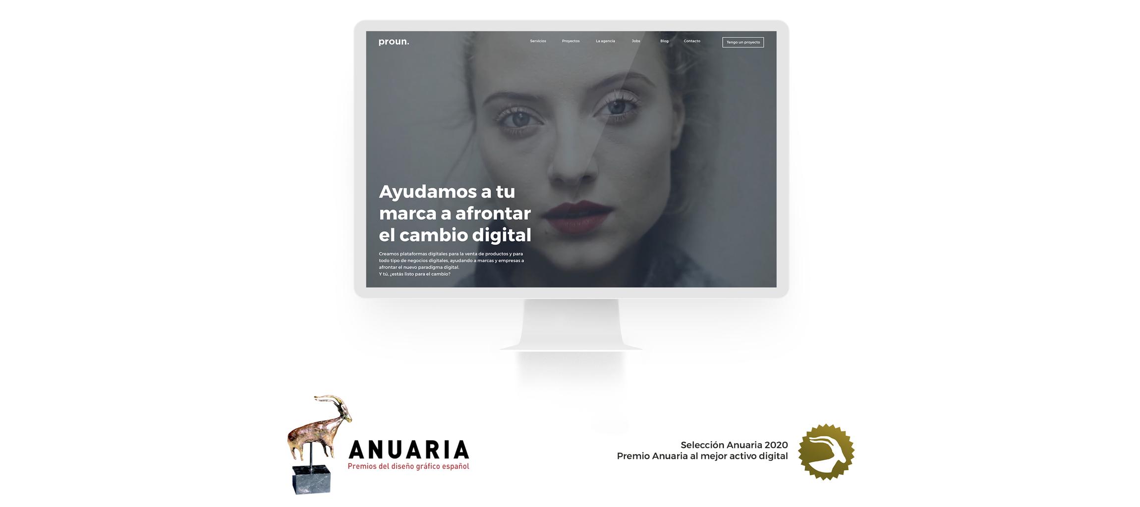 Selección Anuaria Sitio Web Proun