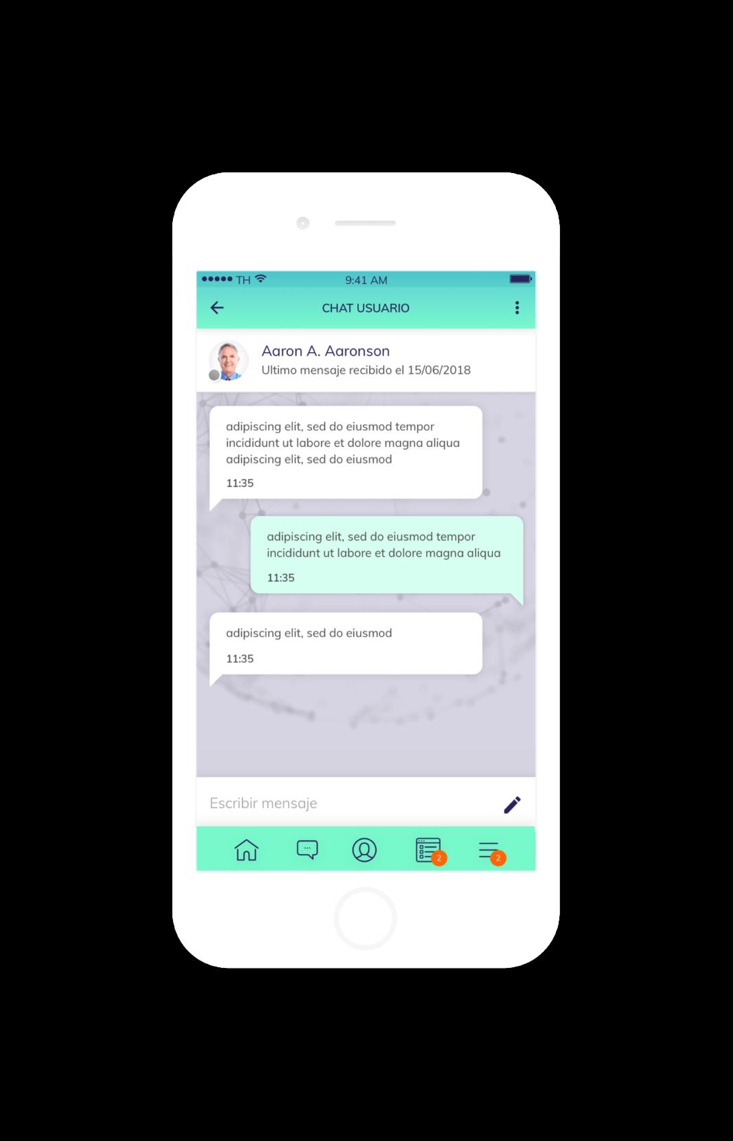 app móvil APD Suite captura 4