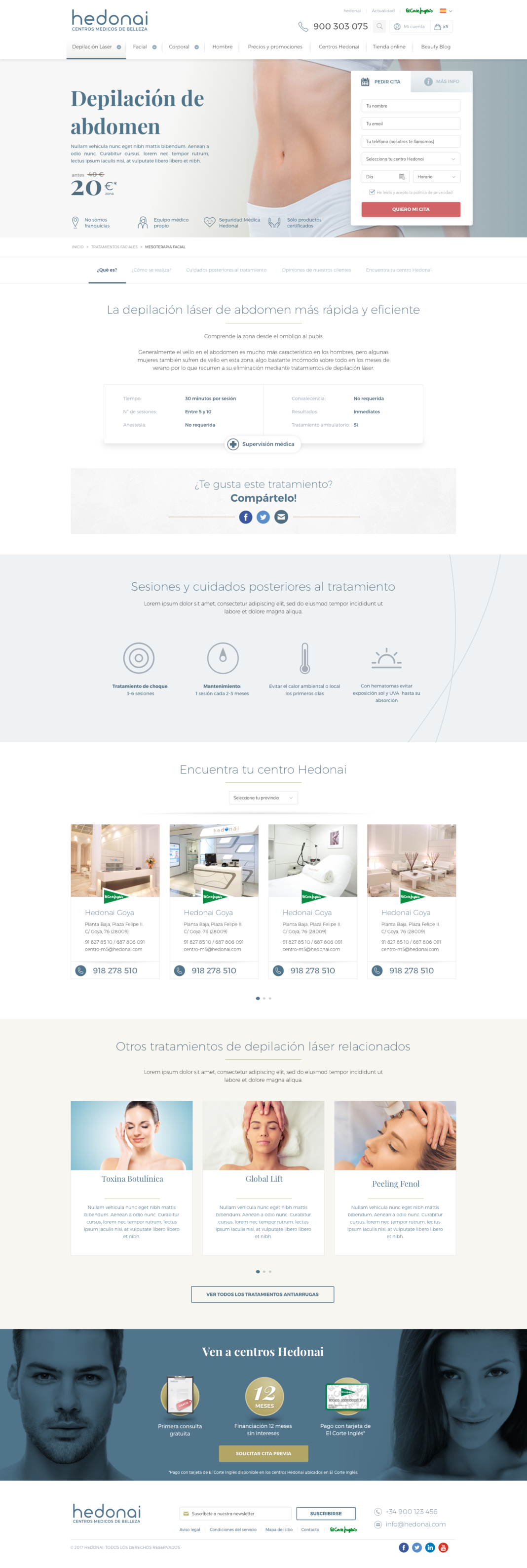 Diseño web, desarrollo web de Hedonai