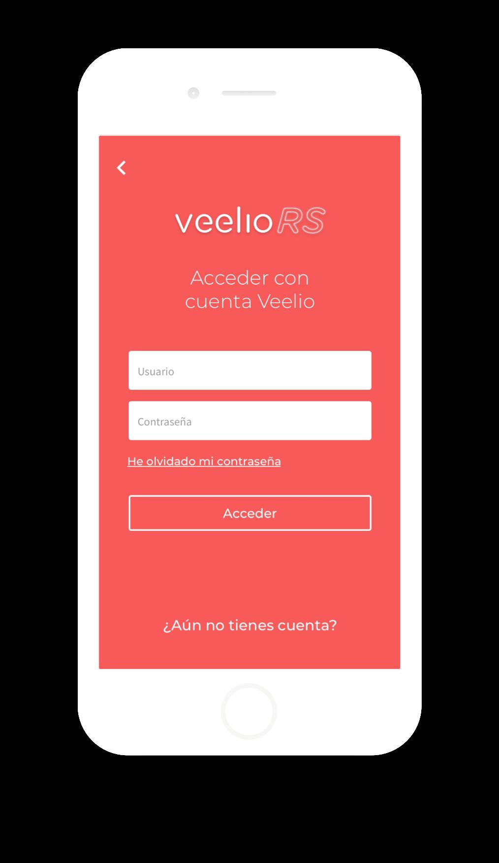 Diseño app Veelio Real State