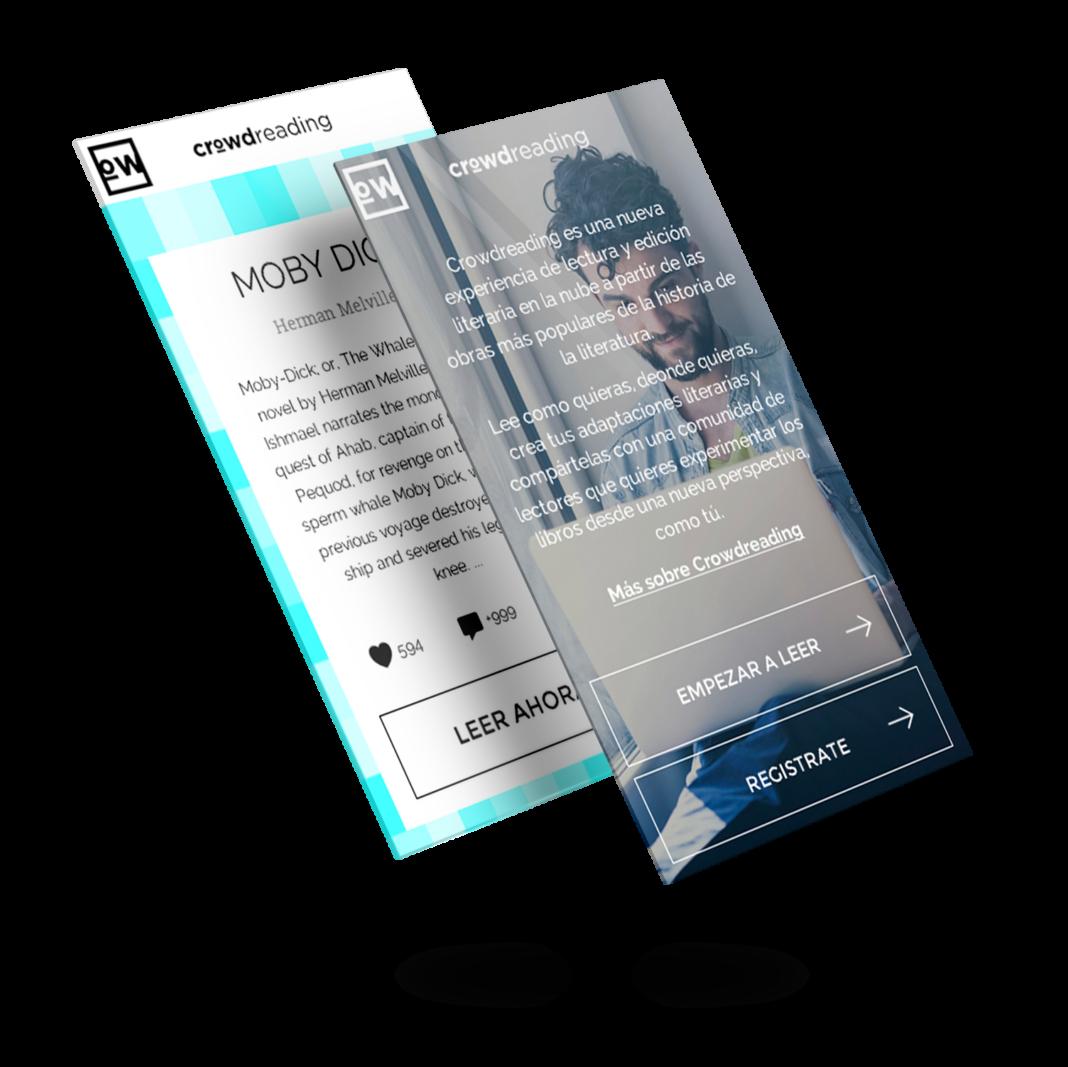 Diseño app móvil Crowdreading