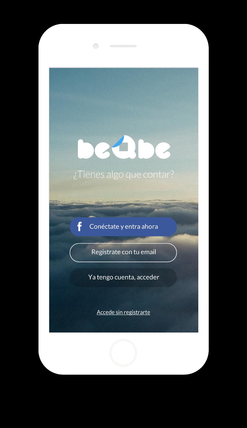 Diseño app beqbe