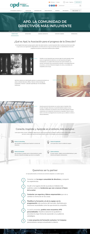 Proyecto proun: página web APD