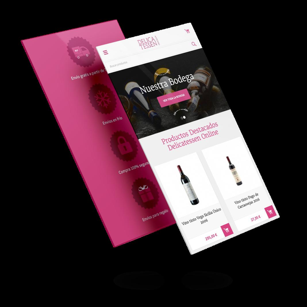 Diseño y desarrollo móvil Delicatessen Antonio