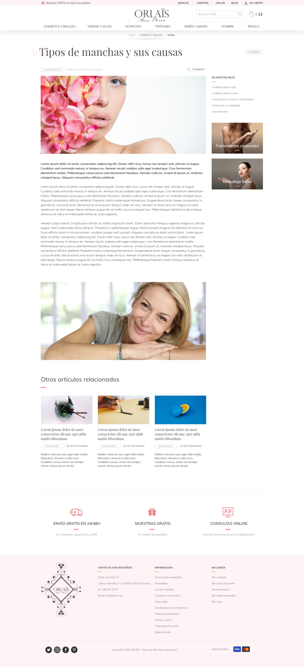 Orlais - diseño web, desarrollo ecommerce y estrategia seo